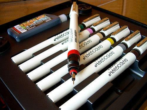 Koh-I-Noor 3165SP7A Rapidograph T-cnica 7 Pen Set Artista