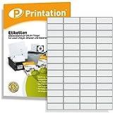 Universal Etiketten 52,5 x 21,2 mm weiß selbstklebend bedruckbar - 5600 Stück auf 100 DIN A4 Bogen à 4x14 52,5x21,2 Labels - 3668 4273 5053 5080 LA110