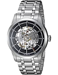 Hamilton Timeless Classic 'Swiss acero inoxidable Casual reloj automático de los hombres de, color: silver-toned (modelo: h40655131)
