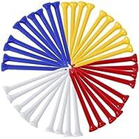 VORCOOL Tees de Golf de plástico 100mm 83mm (Color al Azar)