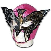 Máscara de Lucha Libre Mexicana Mariposa Rosa