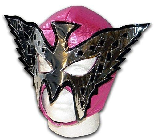 Lucha Libre Wrestling Pink Butterfly Mexikanische (Libre Dress Fancy Nacho)