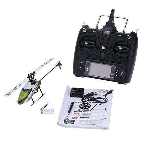 Lan XK K100 6CH 3D 6G System Brushless Motor RC Hubschrauber