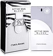 Chris Adams Perfumes Active Man Blanc Eau De Perfume For Men, 100 ml