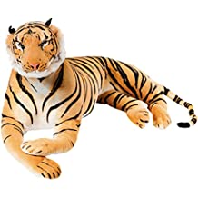 BRUBAKER Gigante Peluche Tigre de Color Marrón de ...