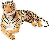 Brubaker riesiger Tiger braun 150 cm König des Dschungels Stofftier Plüschtier