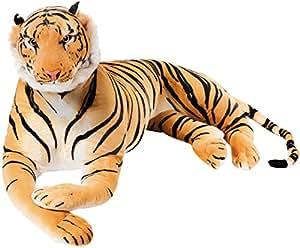 BRUBAKER - Peluche géante marron Tigre - 150 cm le seigneur de la jungle