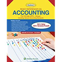 Ready Referencer on Accounting Group I: Padhuka CA IPCC