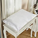 LILYSILK Housewife Silk Pillowcase Pillow Cover for Hair and Skin Both Sides 1pc