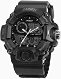 AMPM24 OHS215 - Reloj para hombres, correa de silicona color negro