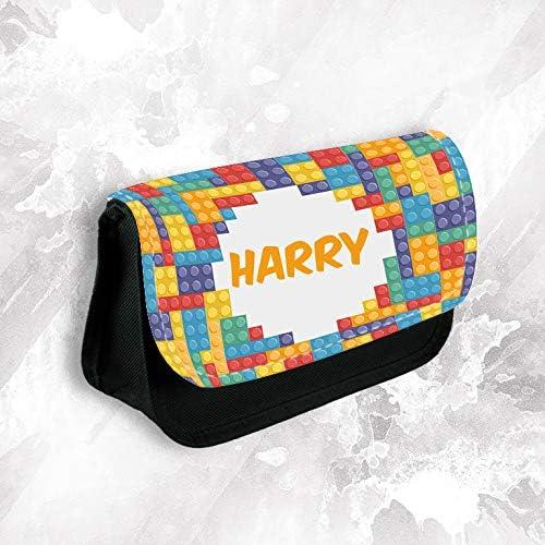 personnalisé n'importe quel nom nom nom Lego Trousse à maquillage Sac d'école enfants Sac stationnaire | Exquise (in) De Fabrication  076701