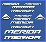 PEGATINAS STICKERS MERIDA DR1103 BIKES STICKERS AUFKLEBER DECALS AUTOCOLLANTS ADESIVI MTB BTT BLANCO