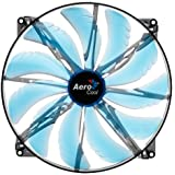 Aerocool Silent Master Ventilateur Avec LED Noir 200 mm (Import Allemagne)
