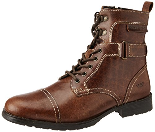 Red Tape Men's Tan Leather Casual Boots - 7 UK