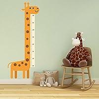 DekorLoft Uzun Zürafa Boy Ölçer Sticker DBC46