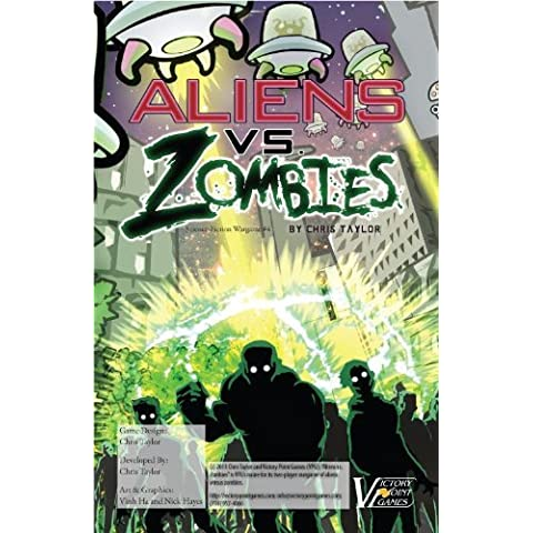 Aliens vs. Zombies - Sci-Fi War #4 - Boxed Board Game by Victory Point Games