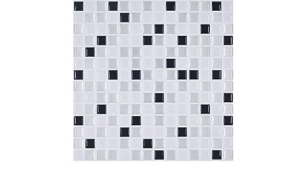KAYI Selbstklebende Fliesen 3d Klassische Mosaik Backsplash Square  Stickerwall Fliesen Home Küche Badezimmer: Amazon.de: Küche U0026 Haushalt