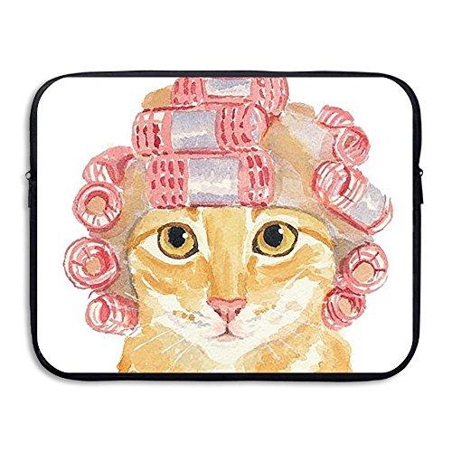ZMviseFunny Cat die schlanke, gepolsterte laptop weicher neopren - ärmel tasche fall decken für notebook - computer ipad - tablet