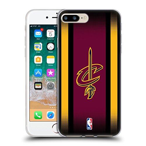 Offizielle NBA Trikot Cleveland Cavaliers Soft Gel Hülle für Apple iPhone 6 / 6s Halbton Gradient
