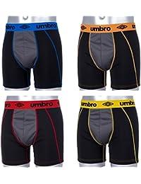 4 Boxers Homme Umbro - Boxer Microfibre PRO