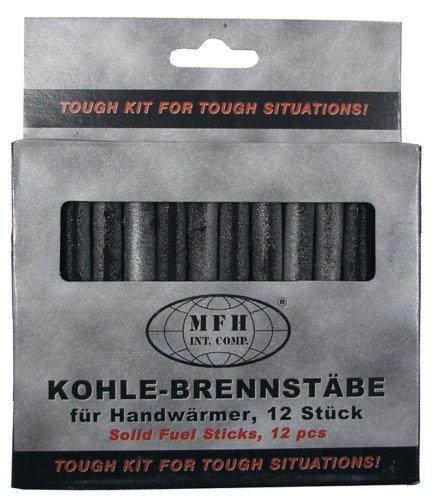 Ersatzbrennstäbe für Handwärmer, 12 Stück in Packung