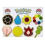 Pokemon Gym Badges - Kanto