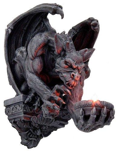 Wandlicht Teelichthalter Gargoyle Gothic Drachen - Gothic Gargoyle