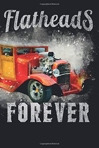 Flatheads Forever: Hot Rod To Do List Notebook Target Daily Planner - Rust Bucket Master Checklist Journal - Personal & Business Activities Levels of Importance (Target Racing)