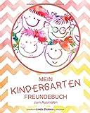 Mein Kindergarten Freundebuch zum Ausmalen: Dein Kindergartenfreundebuch mit extra Seiten für die Erzieher | Design: gezackt