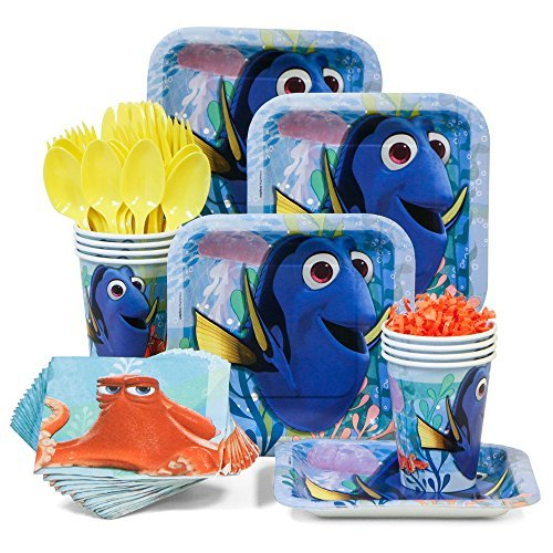 d Birthday Party Tableware Kit (Serves 8) by Costume SuperCenter ()