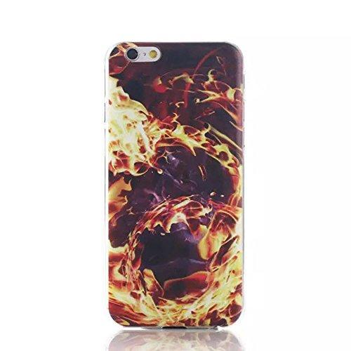 Sunnycase iPhone 6 Plus (5,5 Zoll) Hülle TPU Case Schutzhülle Silikon Crystal Case Durchsichtig iphone6 Handy Tasche Etui mit 1x 7cm Schleife Kristall Bling Strass Diamant Anti Staub Schutz Stecker St Pattern 03