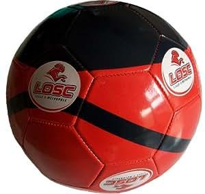 Ballon - Collection Officielle - LILLE Olympique Métropole LOSC - Dogues Football Ligue 1 - Taille 1