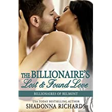 The Billionaire's Lost and Found Love (Billionaires of Belmont Book 4) (English Edition)