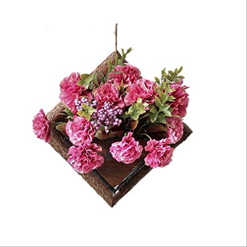 DJL Flower Stand Solid Wood American Wohnzimmer Wand Typ Single Holz Blume Stand STS (größe : W17CM*H24CM) -