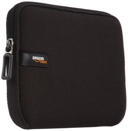 """AmazonBasics Housse en néoprène pour tablette iPad mini/Samsung Galaxy 8"""" - Noir"""