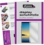 dipos I 6X Schutzfolie klar passend für Samsung Galaxy Note 8 Folie Bildschirmschutzfolie (3X Vorder- und 3X Rückseite)