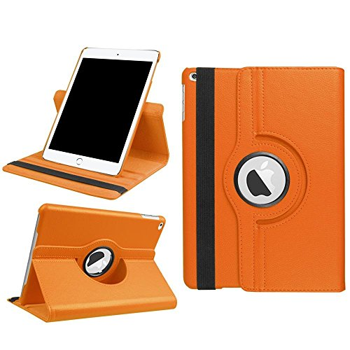Preisvergleich Produktbild KATUMO Case für iPad 9.7 2017,  360 Rotating ipad 5 6 Tablet Case PU Leder Case Cover für ipad 9.7 2017 / ipad 5 6