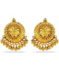 Joyalukkas 22k Gold Drop Earrings for Women