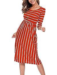 3920636dffb9 Amazon.it  Maniche Tre Quarti - Vestiti   Donna  Abbigliamento