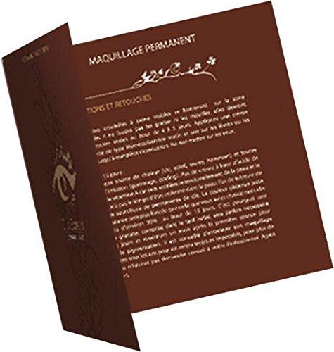 25 Cartons de recommandations/rdv pour Extensin de cils Cils Expert®