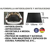 ALFOMBRILLA PROTECTOR MALETERO ANTIDESLIZANTE ANTISUCIEDAD 120CM X 100CM COCHE, FURGONETA, MALETEROS, AUTOS,