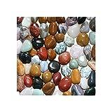 Steine Mix 200 g. Trommelsteine viele Steinsorten Steingröße ca. 25-35 mm Dekosteine, Dekokies, Granulat, Bastelsteine, Natursteine, Ladesteine