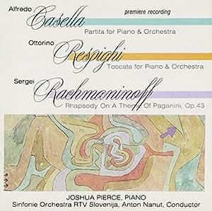 Toccata for Piano/Rhapsody on