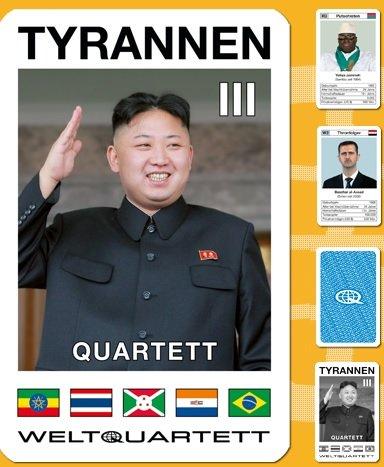Unbekannt Weltquartett WQT3 - Tyrannen III