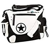 Siawasey, Handtasche / Umhängetasche / Messenger Bag, Motiv: japanischer Anime / Cosplay schwarz Black Rock Shooter