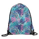 KAKICSA Unisex Gym Bag Cheerleaders Men & Women Drawstring Backpack Travel Bag