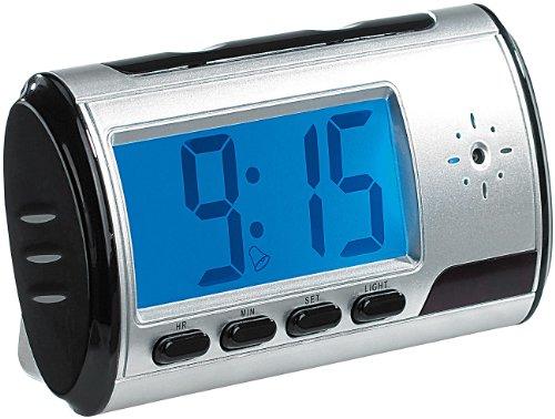 Kamera: Tischuhr mit SD-Videokamera, Audio-Recorder und Wecker (Wecker mit Kamera) ()