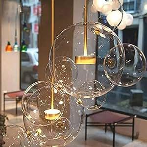 postmodernen skandinavischen glas lampen italienische designer kreative seifenblase lampen. Black Bedroom Furniture Sets. Home Design Ideas