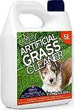 Cleenly Erba Artificiale pulitore per Cani–Freshly Cut Grass fragranza–5Litri–Urine/Dog Wee elimina Gli odori