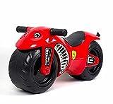 deAO Lauflernhilfe- Motorrad für Babys& Kleinkinder in den Farben rot